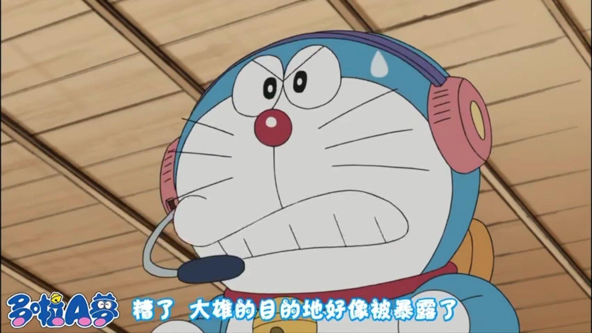 【视频】哆啦A梦:胖虎下达通缉令,哆啦a梦指挥大雄小镇内大逃亡!