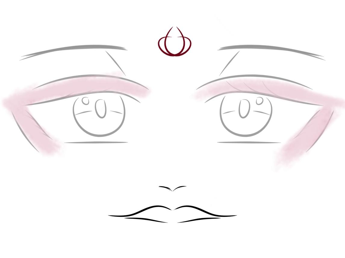 【指绘】指绘 摸个眼睛-小柚妹站