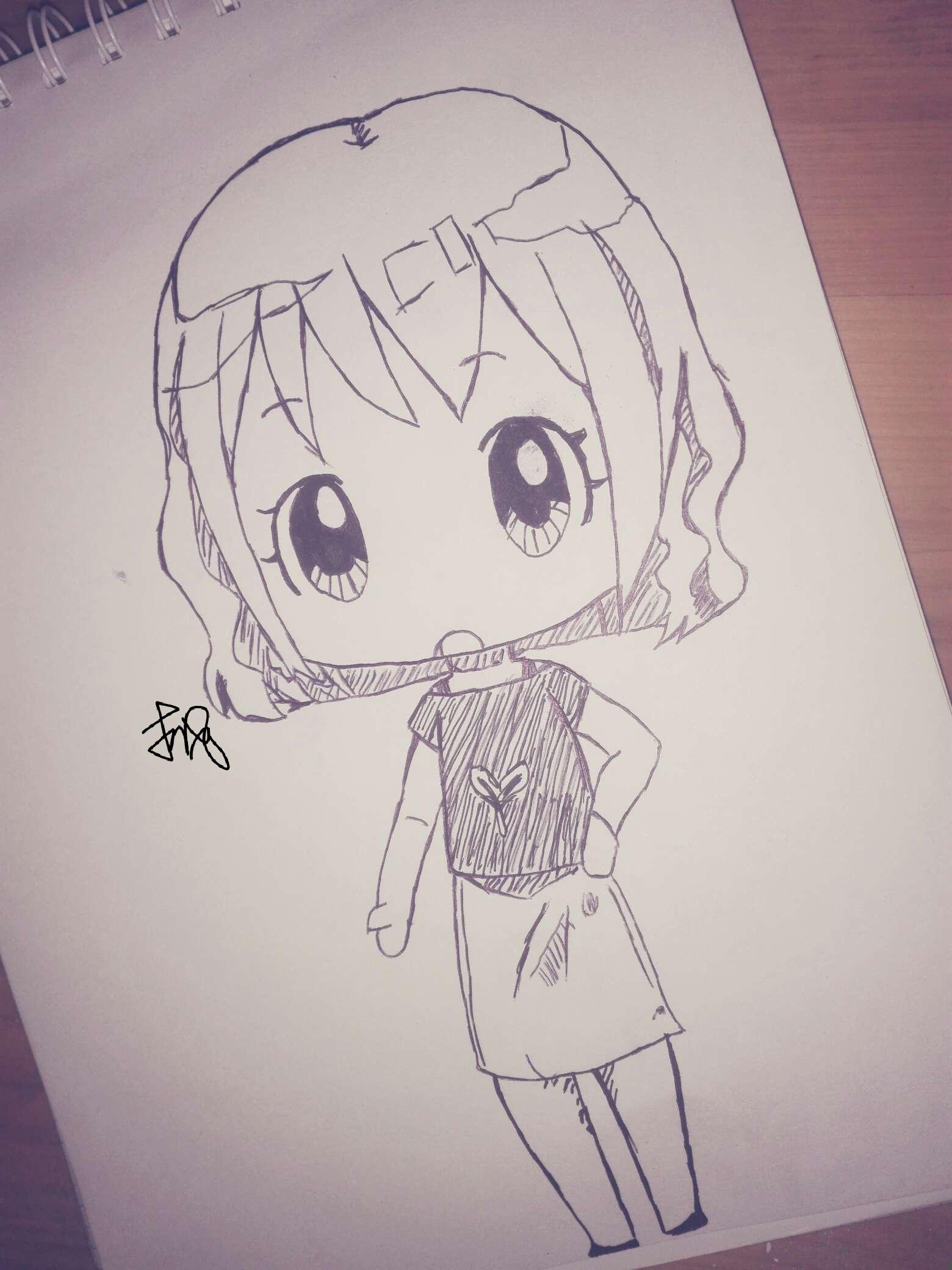 【手绘】其一,运动萌男漫画图片-小柚妹站