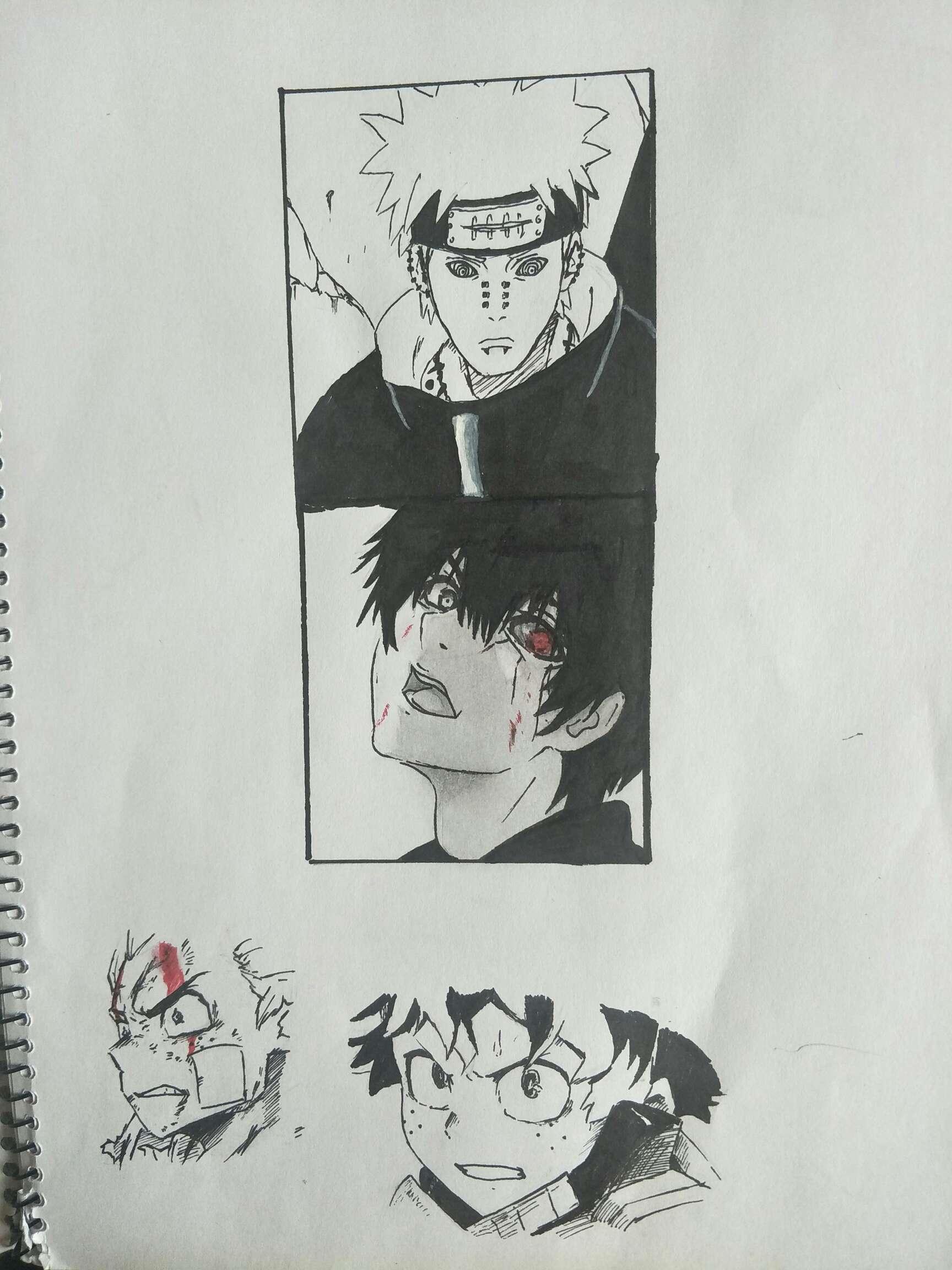 【手绘】画画累,妖颜令第28话免费漫画