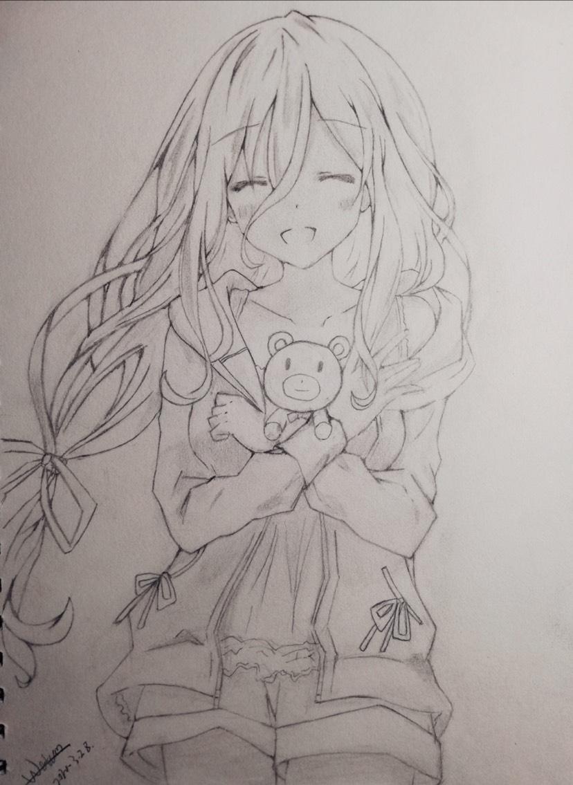 【手绘】令音?澪?,干物妹小埋的人画图片大全-小柚妹站