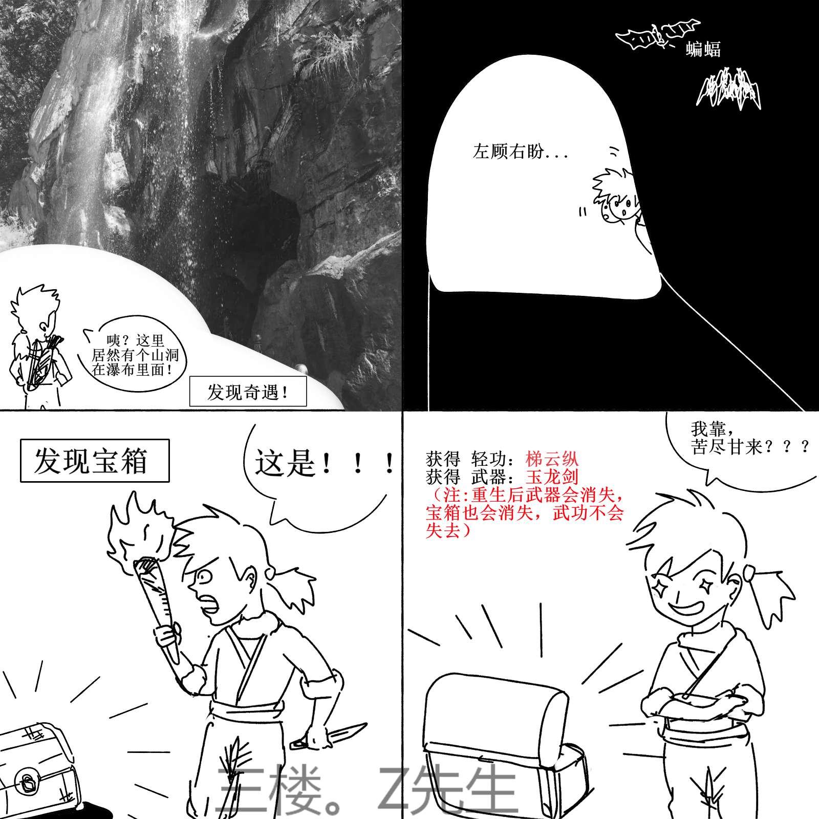 【板绘】原创漫画《游戏群侠传》 连载帖子