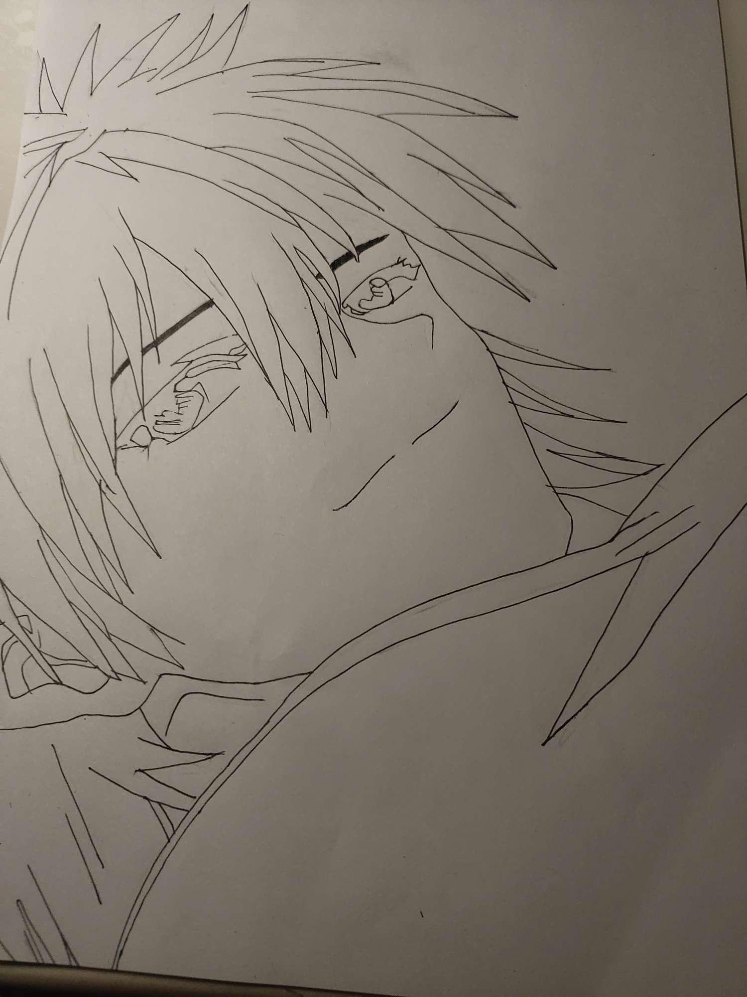【手绘】eva渚薰,化身为青生肉漫画160