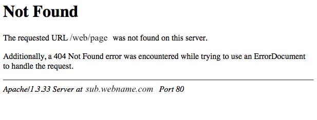 404 not found-404错误页面怎么解决