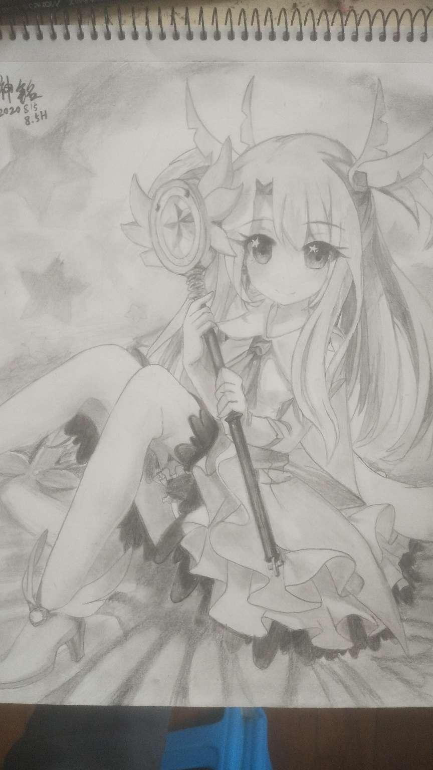 [手绘]今天画一张伊莉雅公主