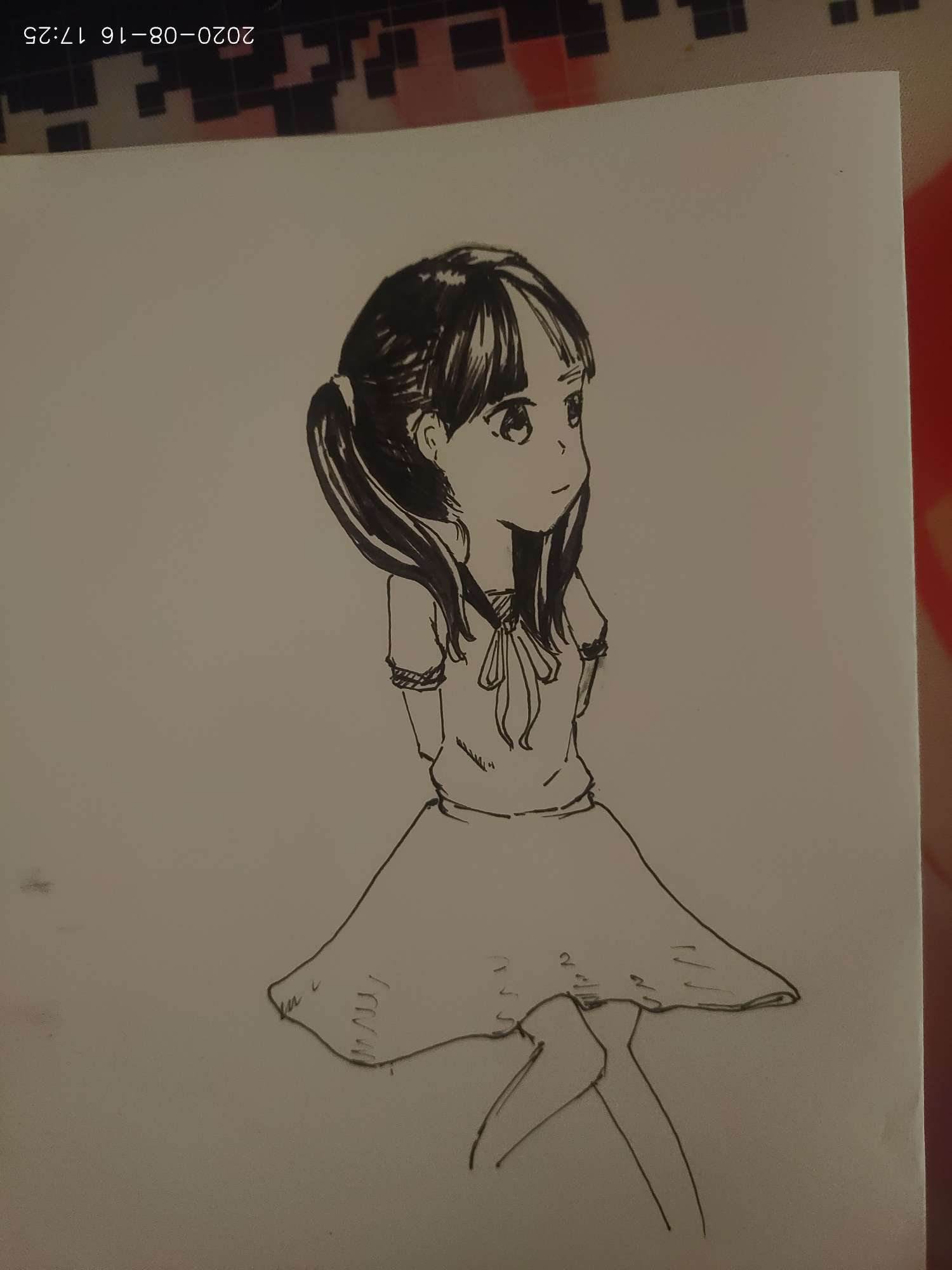 【手绘】我的妹妹怎么能这么可爱?