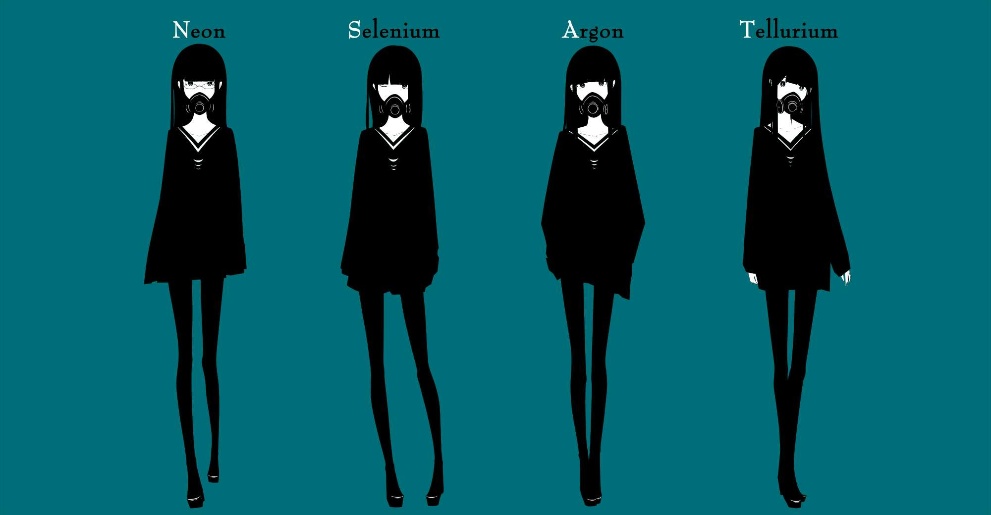 【美图】Haru插画选,简约深刻。