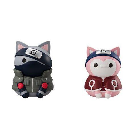 【资讯】扮成「火影忍者」人物的猫手办上架