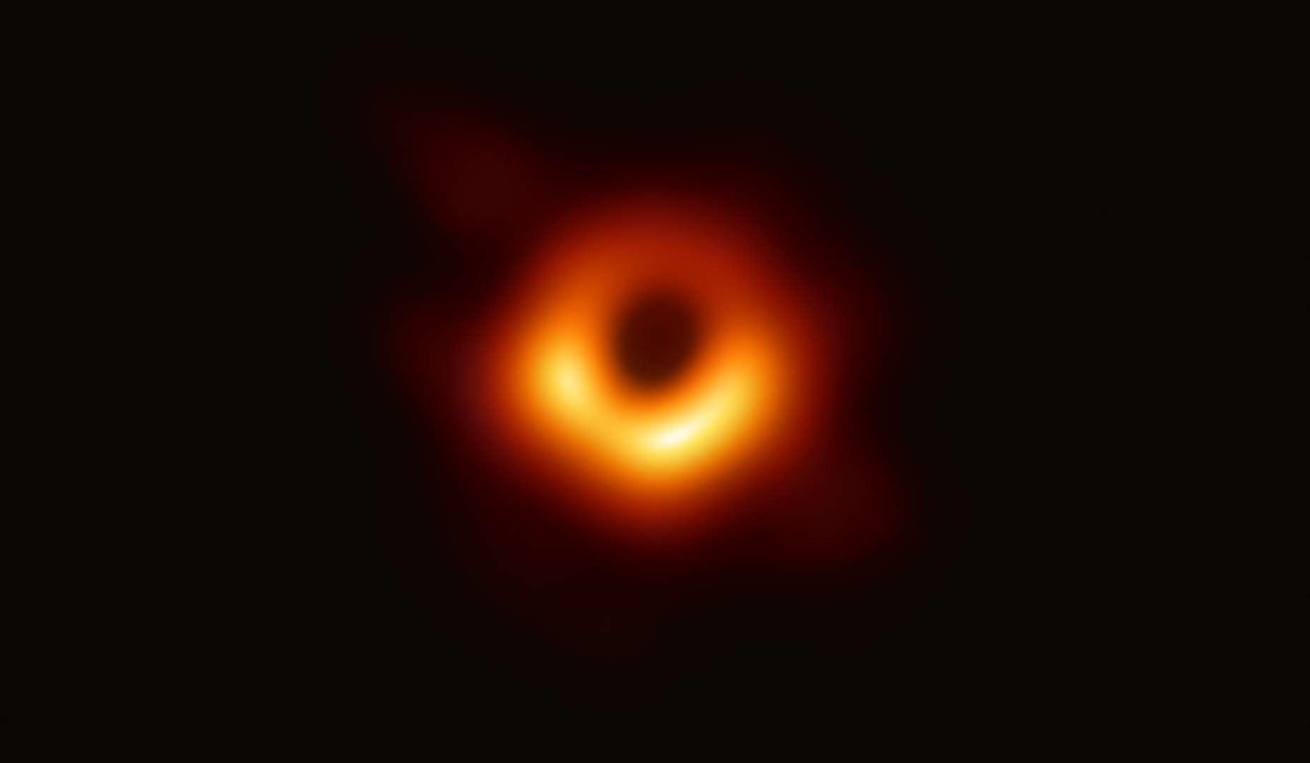 【天文壁】First Image of a Black Hole-小柚妹站
