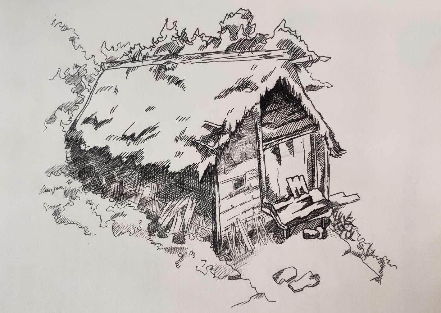 【手绘】 风景图,手机壁纸恋爱漫画图片大全-小柚妹站