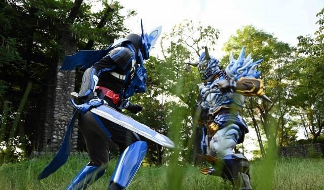 【资讯】假面骑士圣刃第6话追加先行图 很有精神的爽朗忍者四骑剑斩