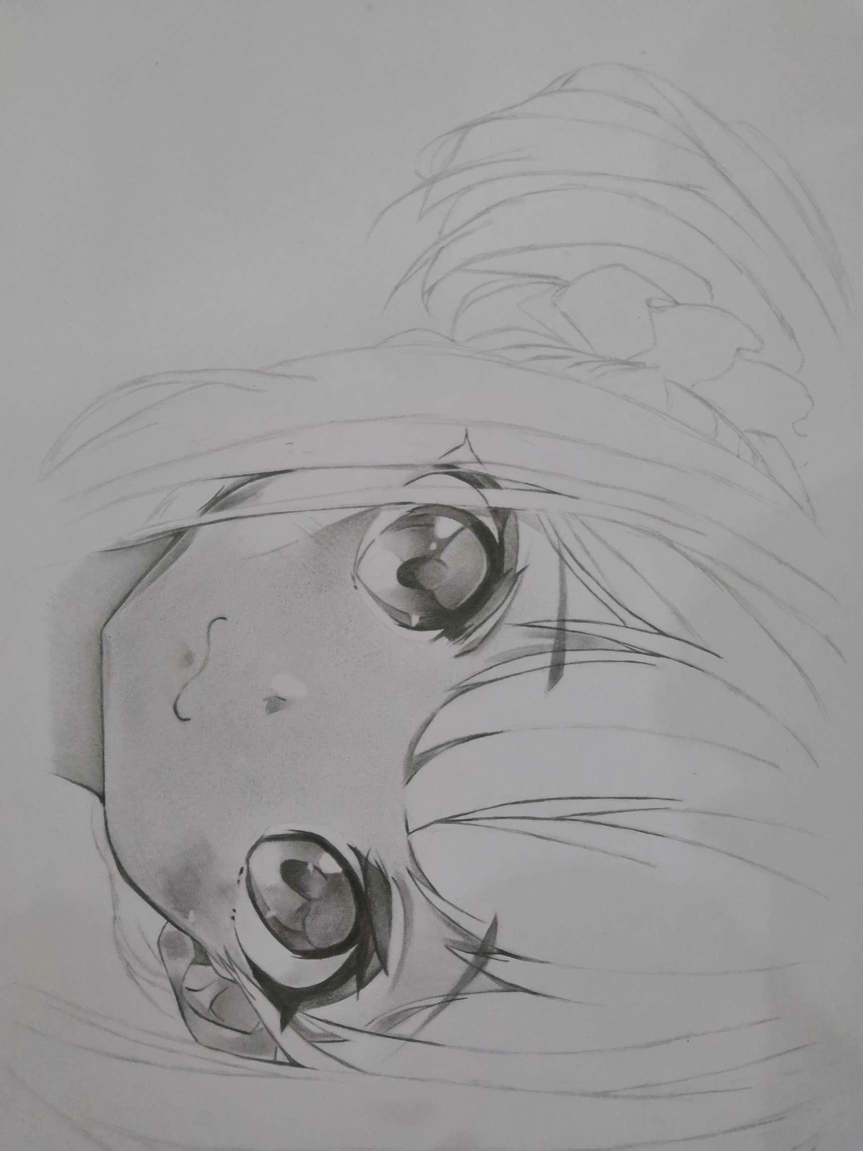 【手绘】眼睛练习,至于成品就看缘分了😂