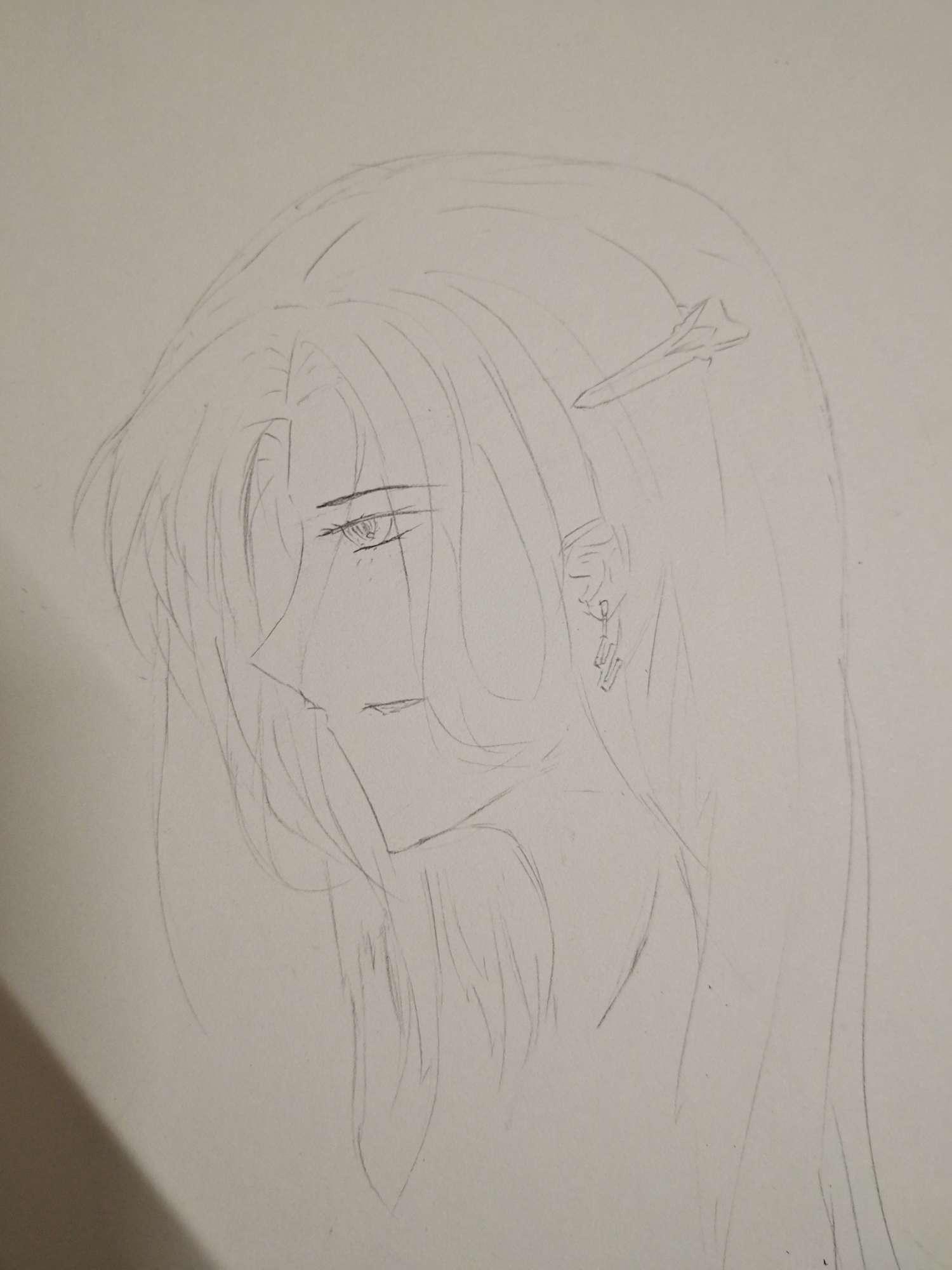【手绘】手绘图稿😁,邪恶肉漫