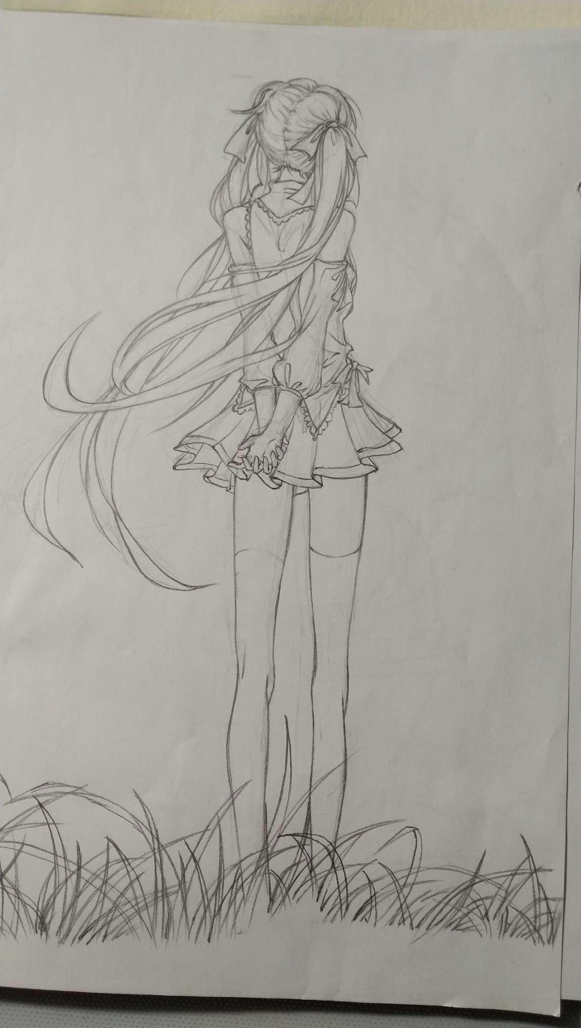 【手绘】提供手绘线稿第一期-小柚妹站