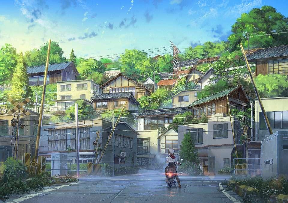 【图片】唯美风景配图-小柚妹站