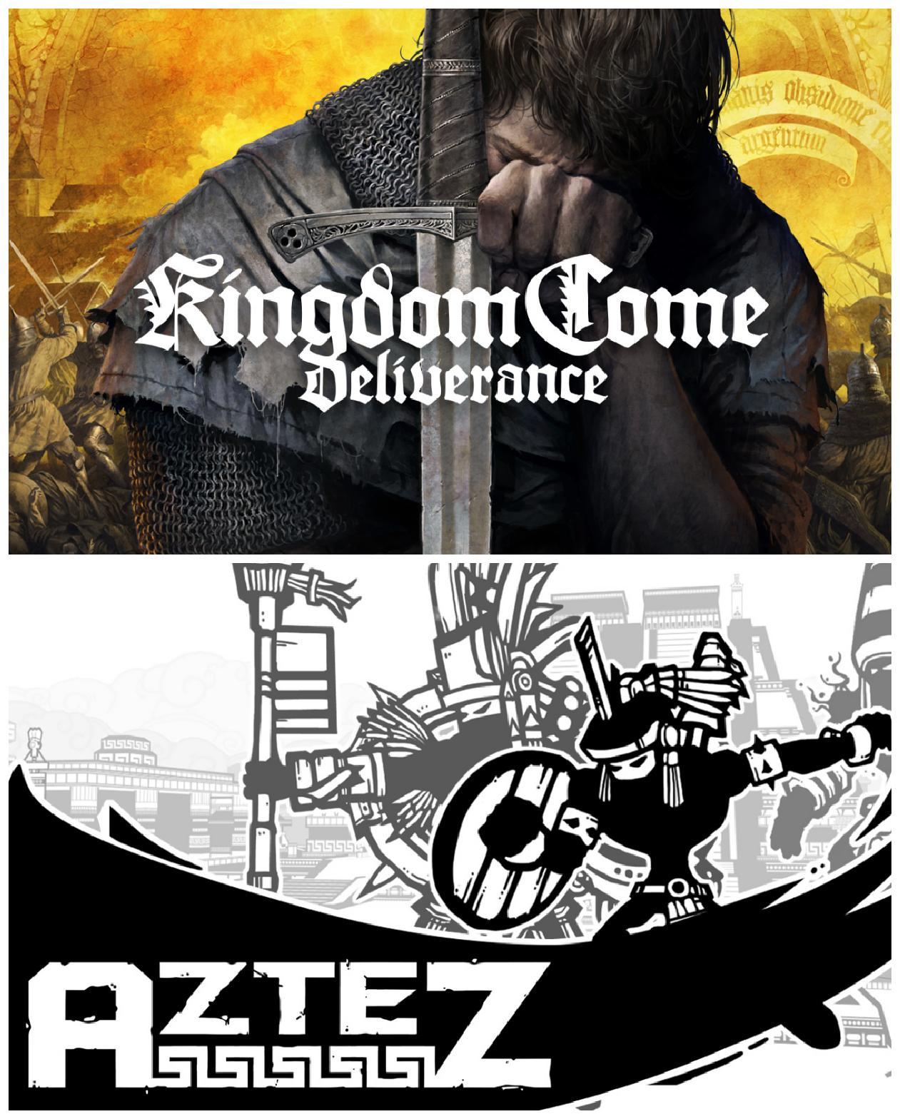 Epic免费领取《天国:拯救》与《Aztez》