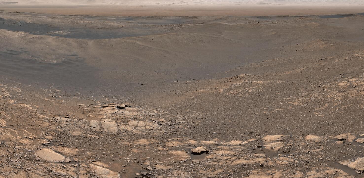 美国宇航局NASA火星18亿像素高清图