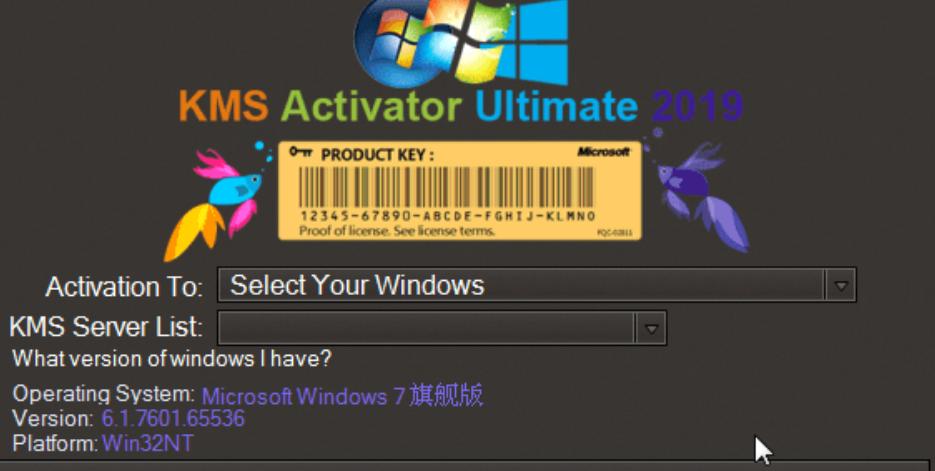 Windows KMS 激活器旗舰版 2020 v5.0 汉化绿色版