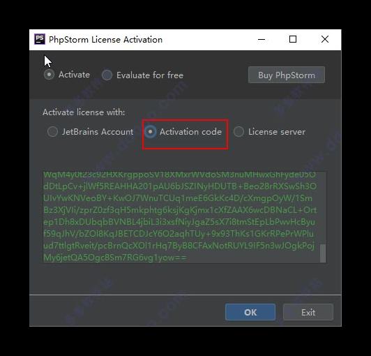 输入key