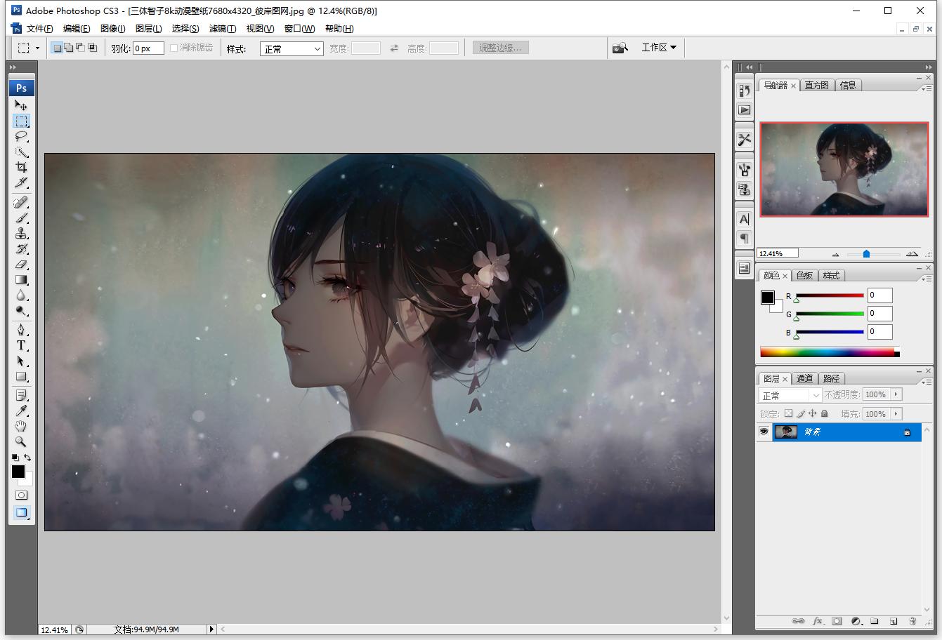 Adobe PhotoshopCS3 v10.0 精简已激活免安装