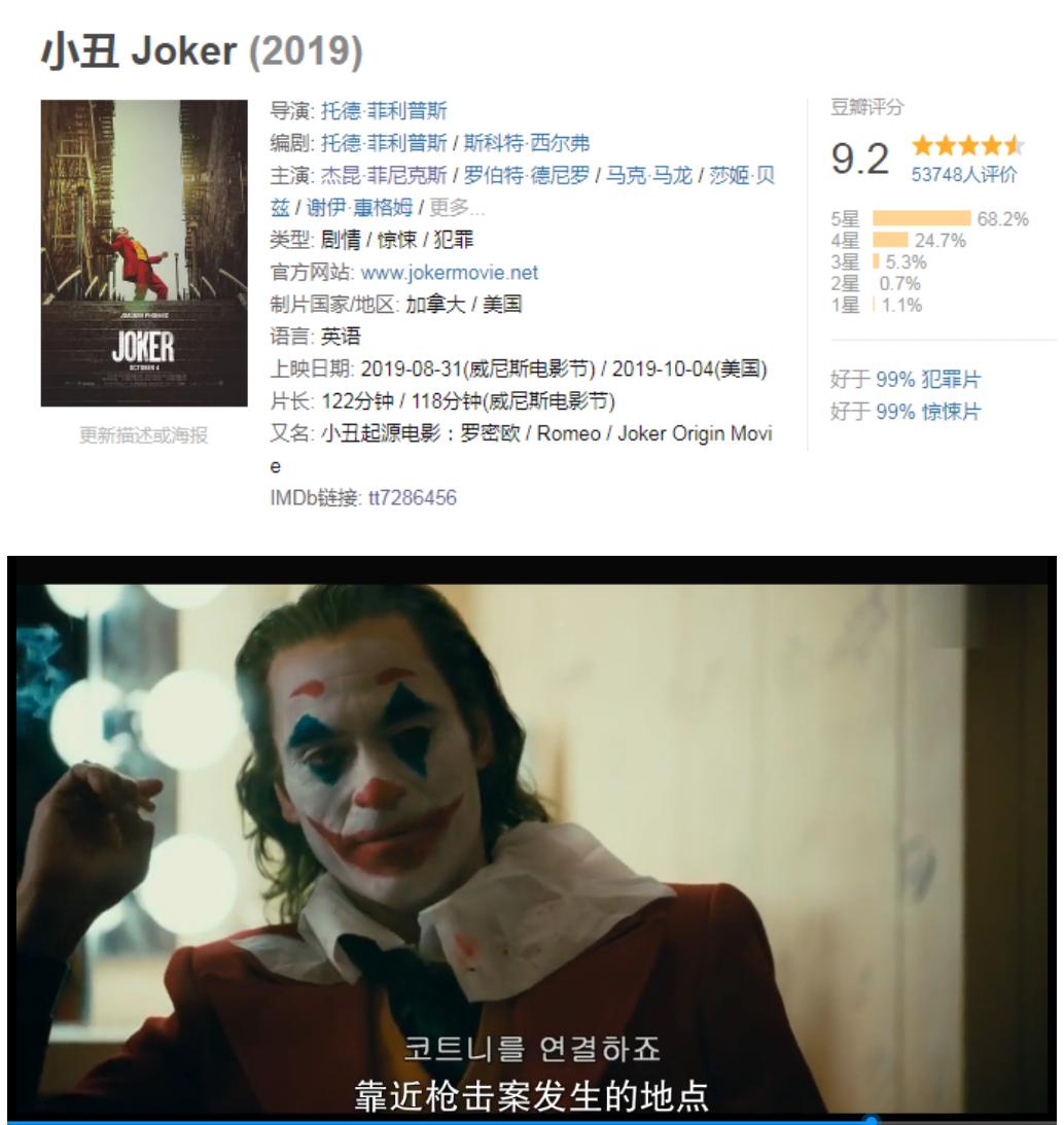 小丑[2019]高清在线观看_1905高清影院