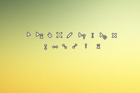 多款鼠标样式 精美鼠标样式修改 可爱的电脑桌面鼠标样式