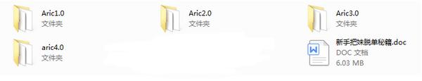 爱瑞克《Aric1.0-4.0网络课程》  第1张